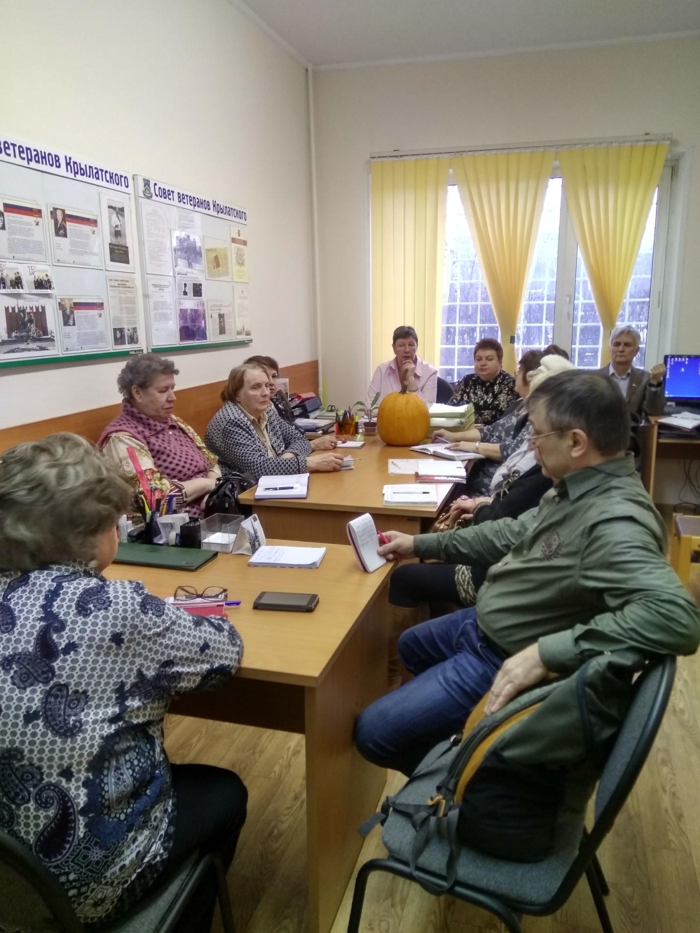 12 февраля 2020 года в Совете ветеранов  проведено  плановое заседание  Президиума
