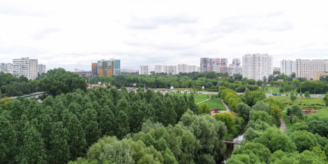 Фото столичного парка, благоустроенного по программе «Мой район», украсит карту «Тройка»