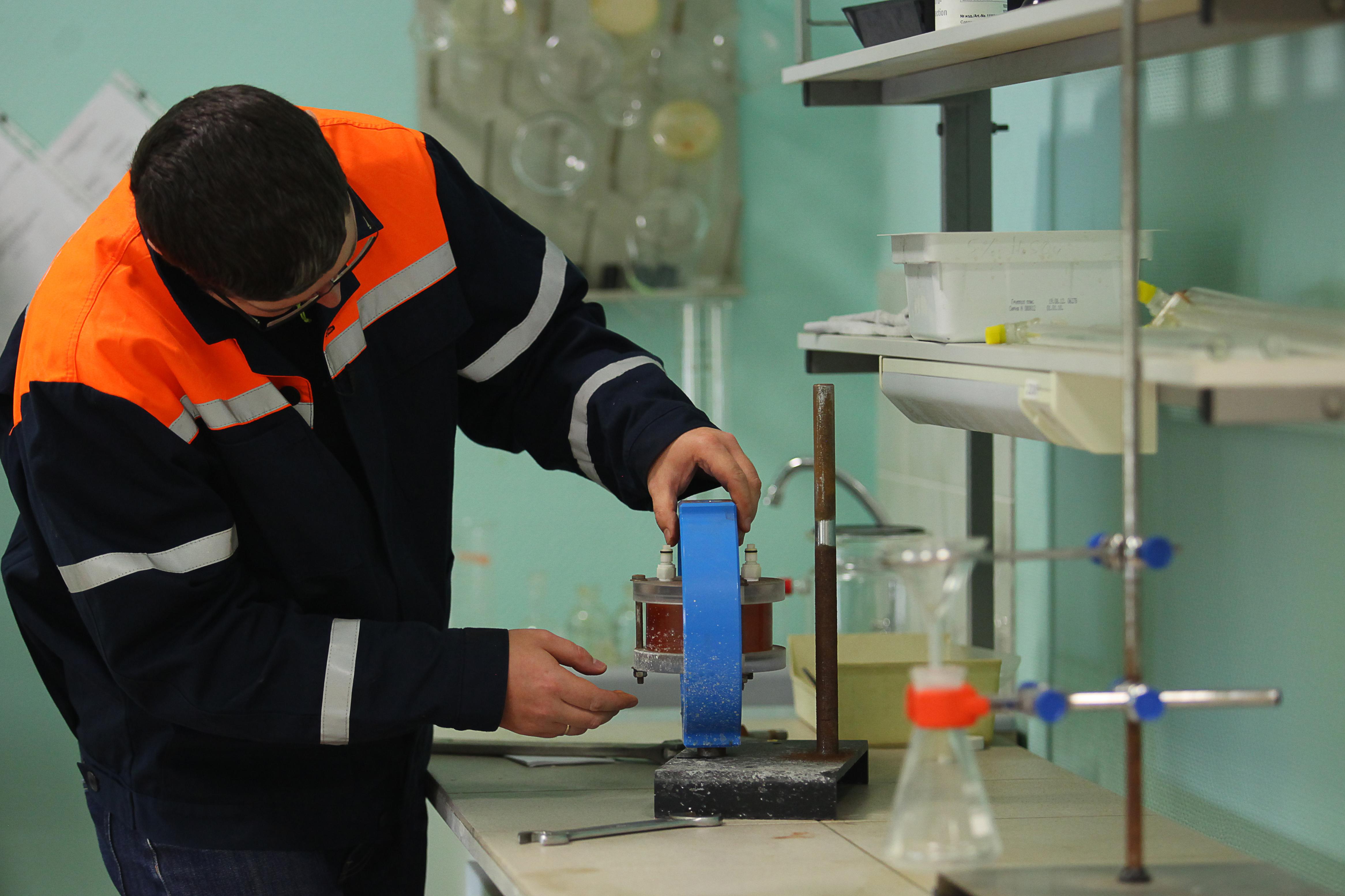 В лаборатории газового хозяйства Москвы разрабатывается уникальная экспресс-методика